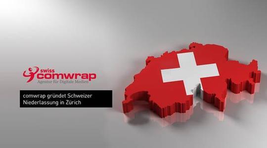 comwrap gründet Niederlassung in der Schweiz