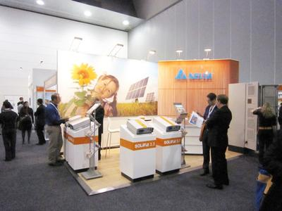 Australian Premiere for the SOLIVIA Solar Inverters at All-Energy Australia 2010