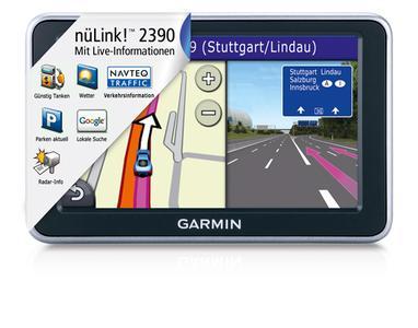 Das erste Garmin Navi mit 3D Traffic von Navteq Traffic