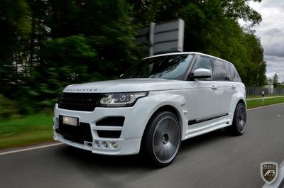 James Bond would certainly love this car: The A.R.T. Road Buster - A premium version of the Range Rover 5.0 V8 SC