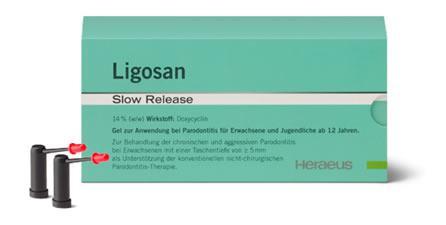 Abb.: Ligosan ® Slow Release, Heraeus