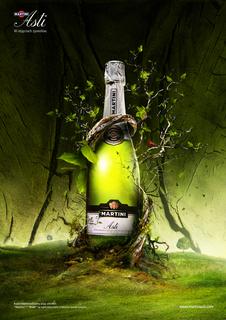 Mit der Printkampagne für Martini Asti wurde Ars Thanea Finalist beim World Luxury Award 2008
