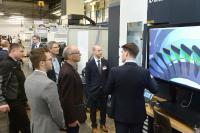 Live demonstrations and individual presentations were used to inform conference participants about technology trends in turbomachinery manufacture.