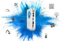 Die Blue Box von Christ ermöglicht eine sichere und unkomplizierte Umsetzung von IIoT Projekten für Maschinen- und Anlagenbauer unterschiedlicher Branchen.