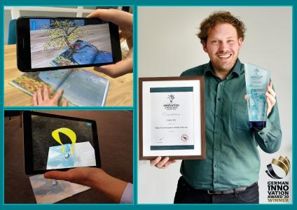 Die rooom AG bekommt sowohl den Innovation and Excellence Award als auch den German Innovation Award.
