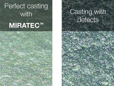 MIRATEC™ MB provides excellent casting surfaces
