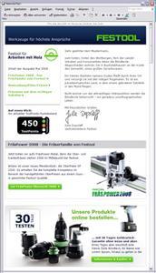 Festool Newsletter