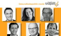 Sechs Experten der Healthcare Shapers beim gesundheitspolitsichen Round Table in Berlin