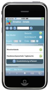 Eingesetzt werden kann die mobile Software des DMRZ von allen Pflegediensten, die Wert auf eine mobile Erfassung über elektronische Geräte legen