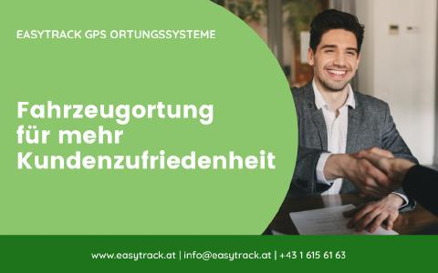 Fahrzeugortung für mehr Kundenzufriedenheit, Easytrack GPS Ortungssysteme