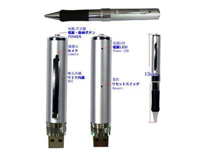 Kugelschreiber mit eingebautem Video-Recorder