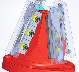 With hyperMILL® you're able to simulate not only the part in its fixture, but the tool, the tool holder, the spindle and the entire machine envelope (Image source: OPEN MIND)