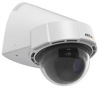 Die AXIS P5414-E ist eine innovative HDTV-PTZ-Dome-Kamera mit Direktantrieb für die Wandmontage in Außenbereichen