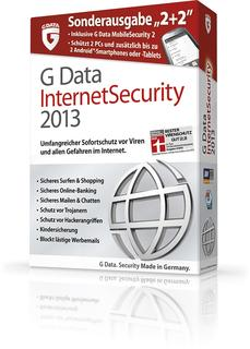 G Data InternetSecurity 2013 Sonderausgabe 2+2