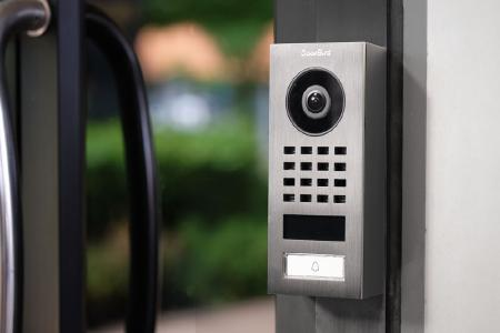 DoorBird IP Video Intercom D1 101V Available Worldwide. Photo: Bird Home Automation GmbH