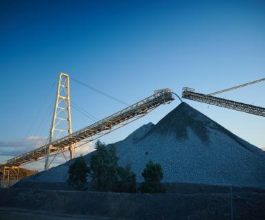 Auf der Cadia-Mine; Foto: Newcrest Mining
