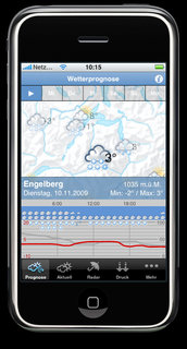 Screenshot iWeather Engelberg