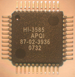 Holt mit erstem Arinc 429 Terminal-IC  Serial Peripheral Interface (SPI)