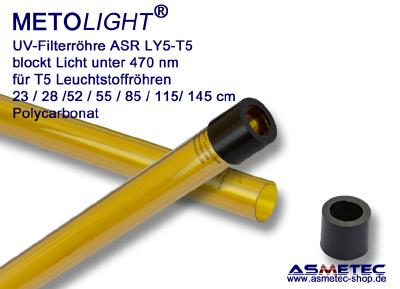 UV-Filterröhre bis 470 nm