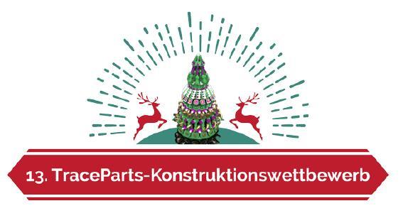 13. TraceParts Weihnachtsbaum-Konstruktionswettbewerb eingeläutet