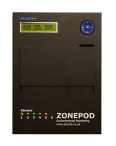 Jacarta ZonePod Temperaturüberwachung