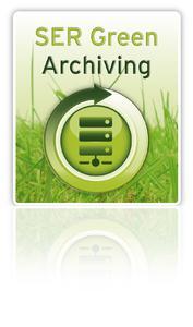 SER Green Archiving spart Geld und schont die Umwelt