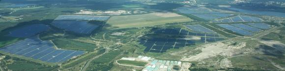166 MW Solarpark in Senftenberg Schipkau mit Solarmodulen von Canadian Solar