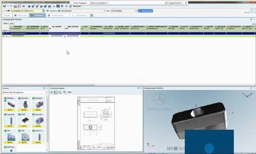 An einer Stelle sind alle Informationen über 3D Engineering Daten als auch die jeweiligen 2D- und 3D Zeichnungen verfügbar