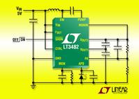 90V Boost DC/DC Converter with APD Current Monitor