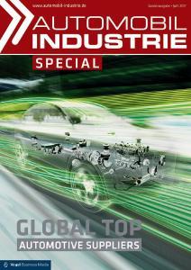 In der Sonderausgabe wird das aktuelle Ranking der Automobilzulieferer vorgestellt und analysiert, Quelle: Automobil Industrie