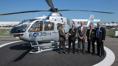 Airbus Helicopters to provide long-term support for EC135 rotorcraft operated by German Federal Police