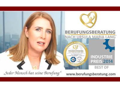 IMAGE-Video Ursula Maria Lang zum Deutschen IndustriePreis 2014