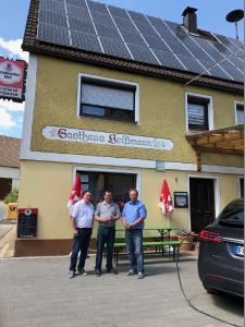 Gasthaus Heißmann im fränkischen Morsbrunn - gute fränkische Küche - mit Sonnenenergie gekocht © iKratos