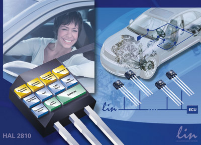 New Smart Sensor from Micronas Simplifies LIN bus-based Automotive Applications