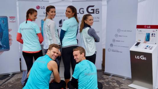 LG beflügelte Wings for Life World Run in München