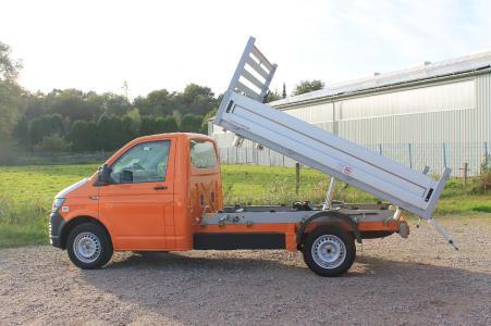 Volkswagen Transporter mit Schoon ALU Kipper