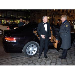 Verleihung Bayerischer Filmpreis 2008: Ehrenpreisträger Michael Ballhaus mit BMW Shuttle Service
