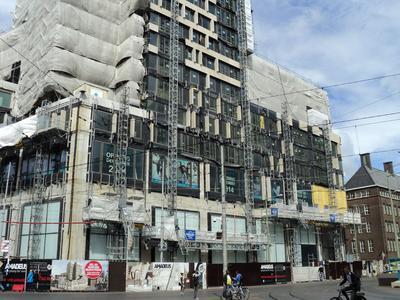 Aufgrund der Anpassungsfähigkeit an anspruchsvolle Gebäude entschied sich Züblin Nederland BV für den Einsatz der Böcker-Mastkletterbühnen (Foto: Böcker Maschinenwerke, Werne)