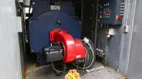 Die 1.250 Kilowatt starke modern Heizanlage vom Typ HOTMASTER ist in einem 20-Fuß-Container verbaut.