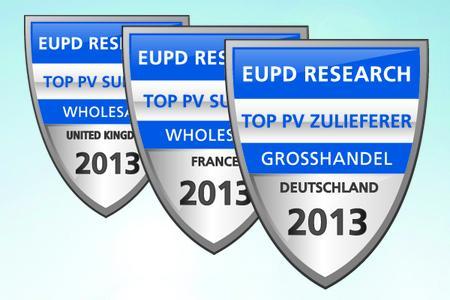 TopPV Zulieferer EuPD Auszeichnung 2013