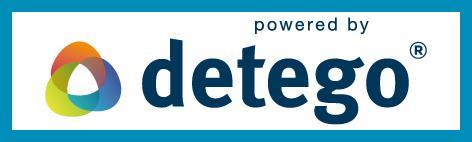 powerd by detego