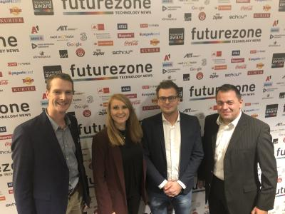 """Internet of Dental Things"": W&H beim FutureZone Award 2019 ausgezeichnet"