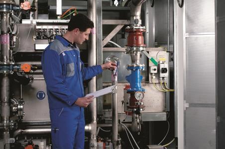 """Kundenspezifisch festgelegte Wartungsintervalle ermöglichen den """"kontrollierten Produktionsausfall"""" mit verringerter Anlagenstillstandszeit und ohne unkontrollierbare Kosten."""