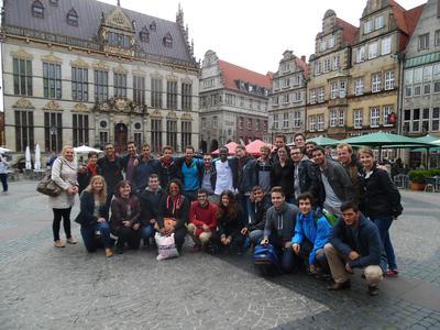 Gruppenfoto der Teilnehmerinnen und Teilnehmer der CVA Summer School