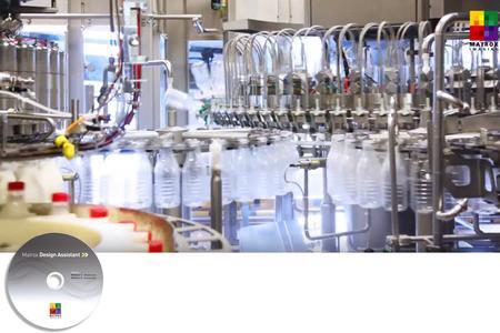 Matrox Design Assistant Applikation für die Lebensmittel- und Getränke Herstellung