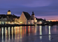 Colorful time for Regensburg, a World Heritage Site