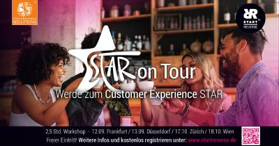 Performance Solutions organisiert Customer Experience Roadshow - STAR on Tour - in 4 Städten in Deutschland