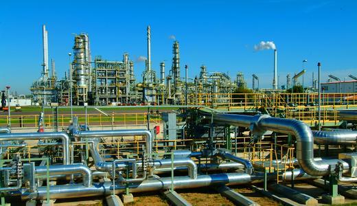 Total-Raffinerie, © Total