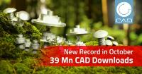 Manufacturer catalogs more popular than ever: 39 million CAD models downloaded for the first time in one month