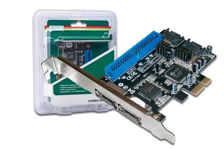 SATA II 300 + PATA Raid Controller PCI Add-On card, DS-30103